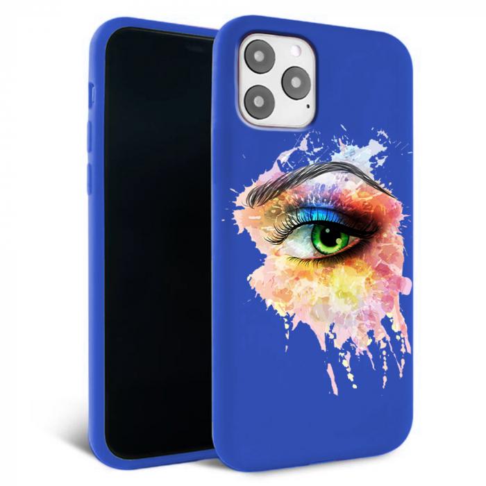 Husa iPhone 11 - Silicon Matte - Colored eye [5]