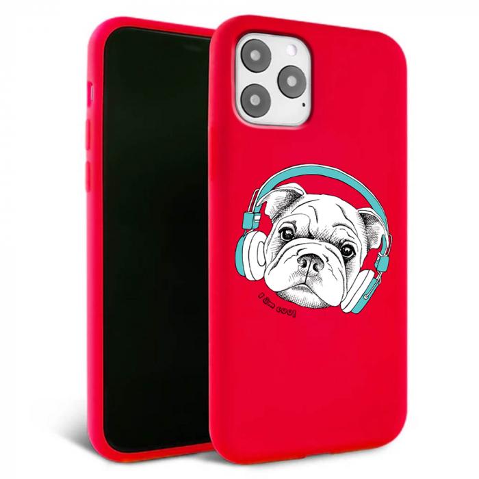 Husa iPhone 11 - Silicon Matte - Cool dog [0]