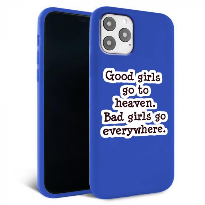 Husa iPhone 11 - Silicon Matte - Good Girls [2]