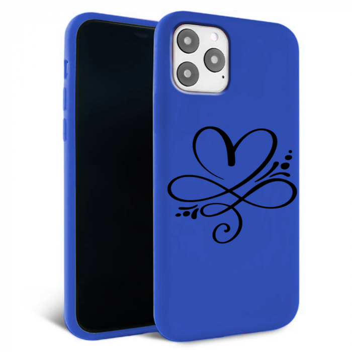 Husa iPhone 11 - Silicon Matte - Heart 1 [4]