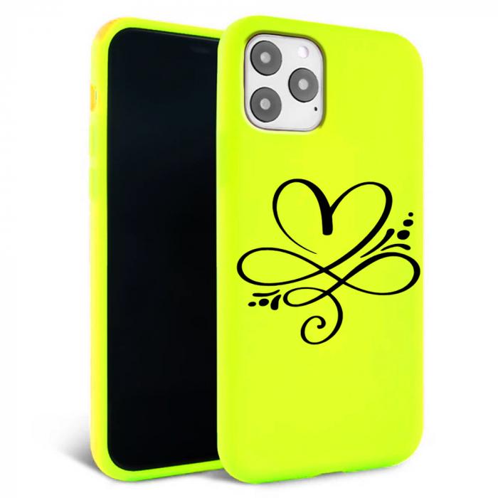 Husa iPhone 11 - Silicon Matte - Heart 1 [1]