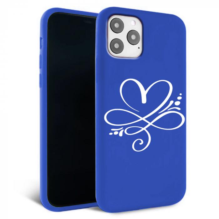 Husa iPhone 11 - Silicon Matte - Heart 2 [0]