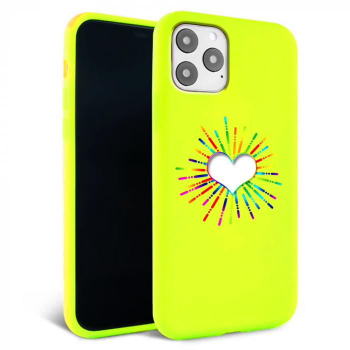 Husa iPhone 11 - Silicon Matte - Heart 3 [4]