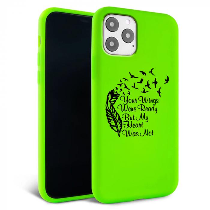 Husa iPhone 11 - Silicon Matte - Hearts 1 [1]