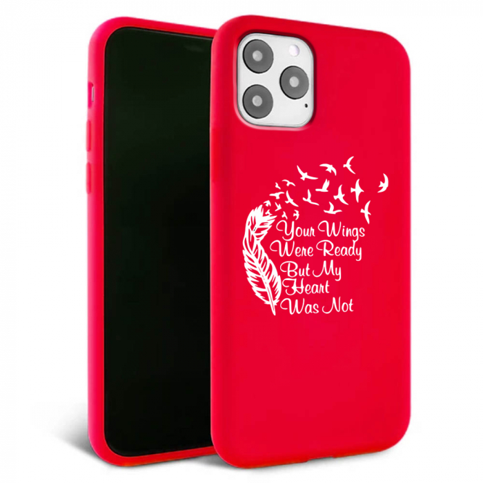Husa iPhone 11 - Silicon Matte - Hearts 2 [5]