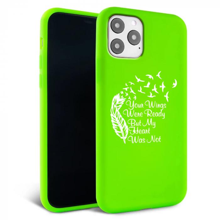 Husa iPhone 11 - Silicon Matte - Hearts 2 [1]