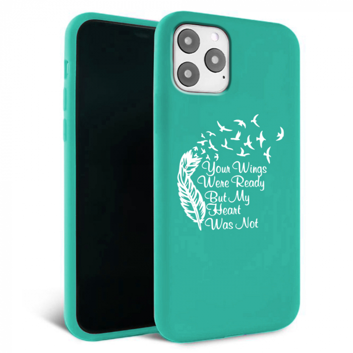Husa iPhone 11 - Silicon Matte - Hearts 2 [3]