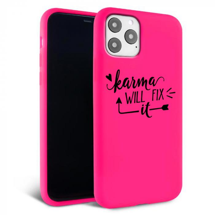 Husa iPhone 11 - Silicon Matte - Karma 2 [2]