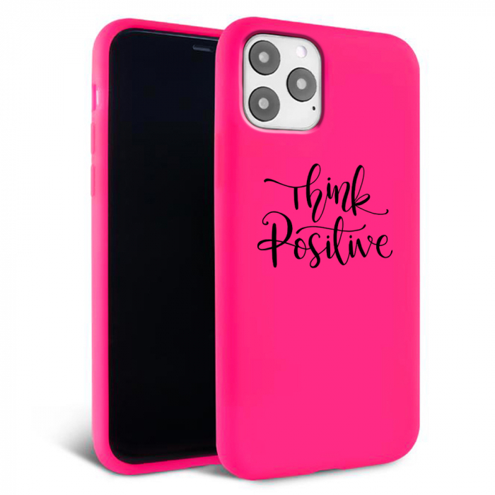 Husa iPhone 11 - Silicon Matte - Think Positive 1 [1]