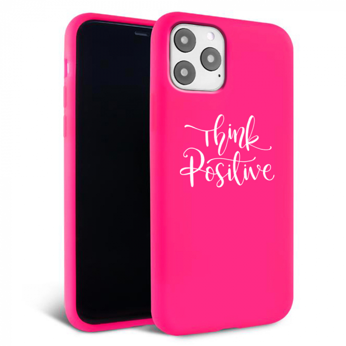 Husa iPhone 11 - Silicon Matte - Think Positive 2 [4]