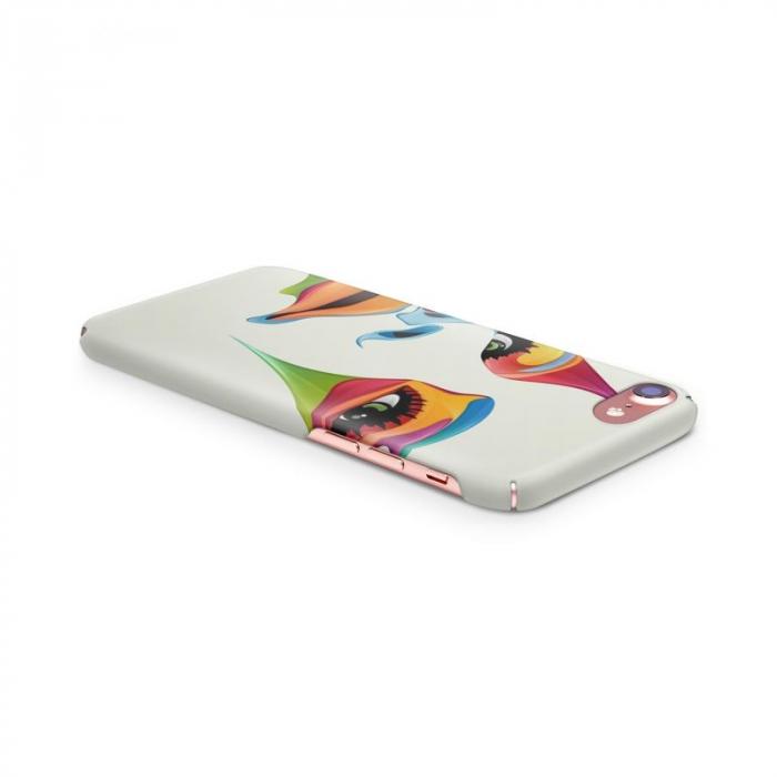 Husa iPhone 6 Custom Hard Case Color Face 1