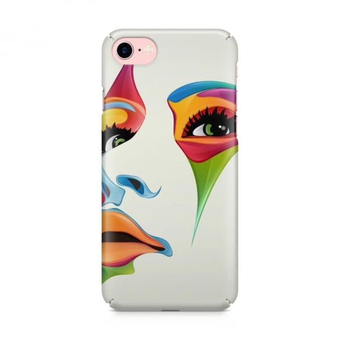 Husa iPhone 6 Custom Hard Case Color Face 2