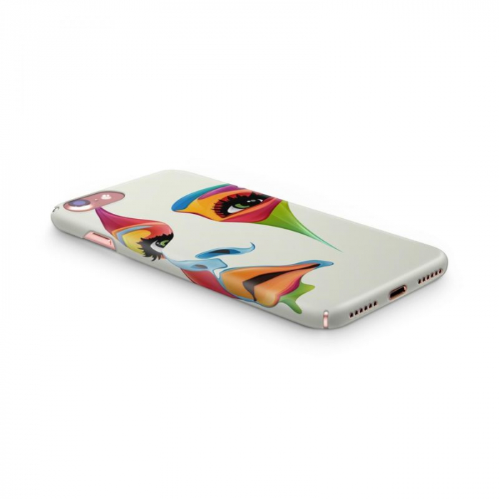 Husa iPhone 6 Custom Hard Case Color Face 3