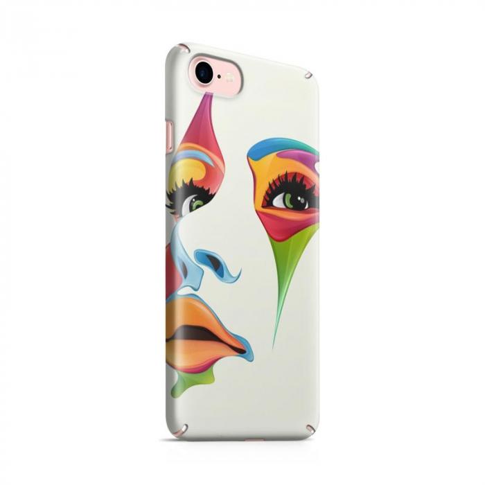 Husa iPhone 6 Custom Hard Case Color Face 0