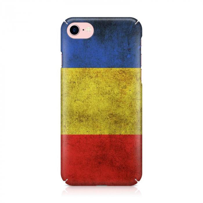 Husa iPhone 6 Custom Hard Case Flag RO 2