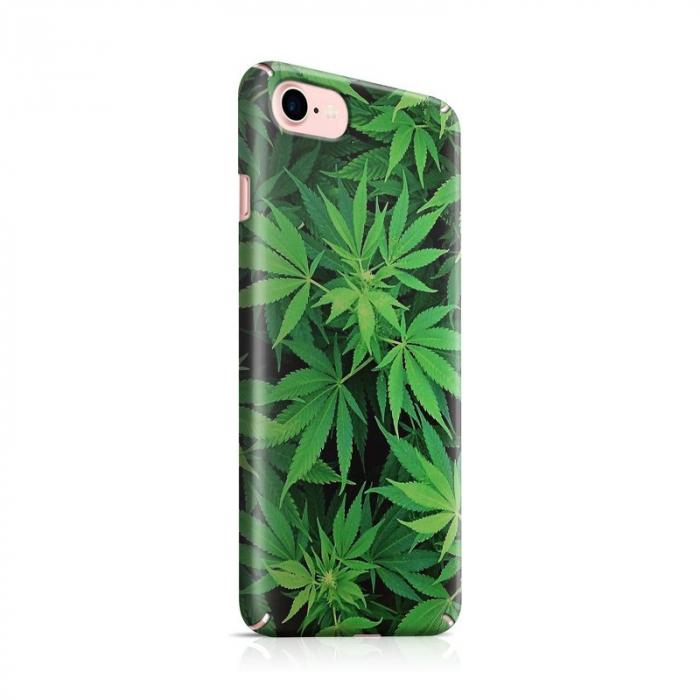Husa iPhone 6 Custom Hard Case Green Leaf 0