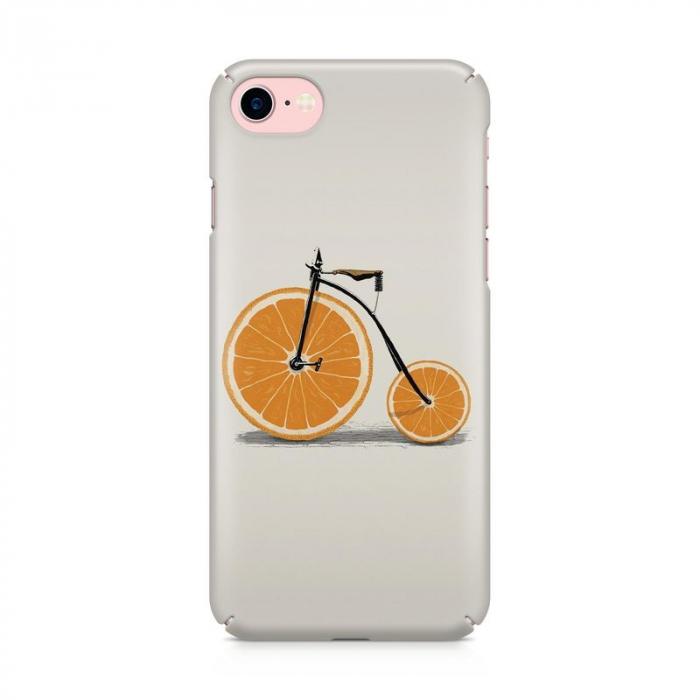 Husa iPhone 6 Custom Hard Case Orange Bicycle 1