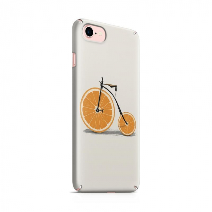 Husa iPhone 6 Custom Hard Case Orange Bicycle 0