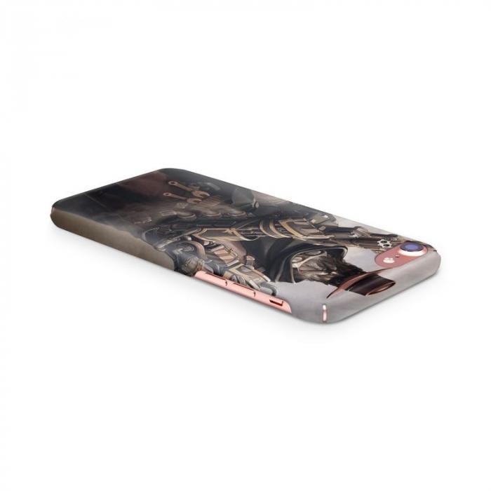 Husa iPhone 6 Custom Hard Case Steampunk Fighter 1