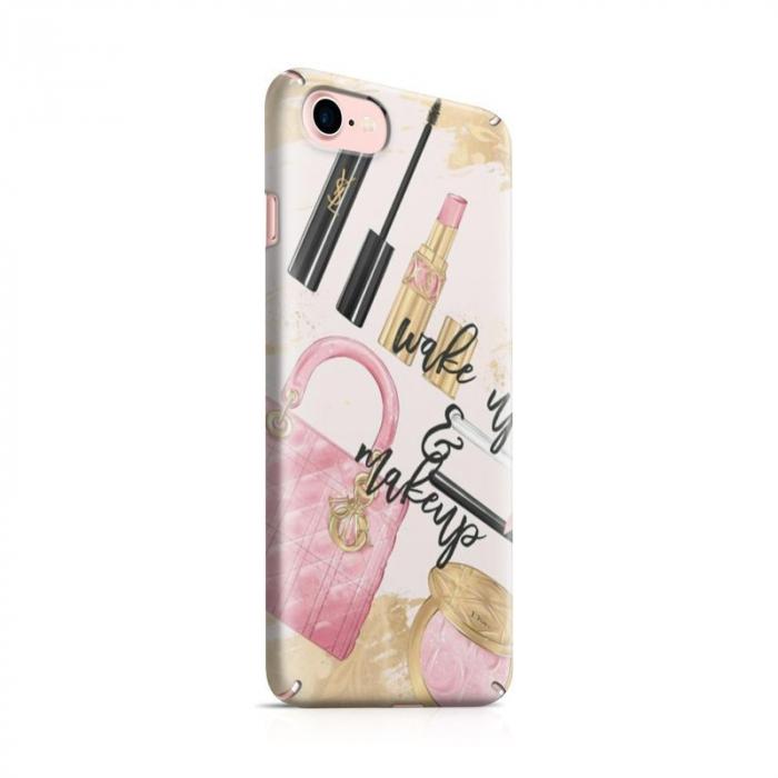 Husa iPhone 6 Custom Hard Case Wake Up And Makeup 0