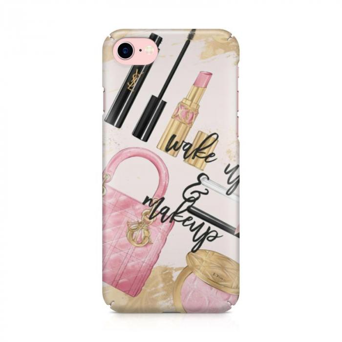 Husa iPhone 6 Custom Hard Case Wake Up And Makeup 1
