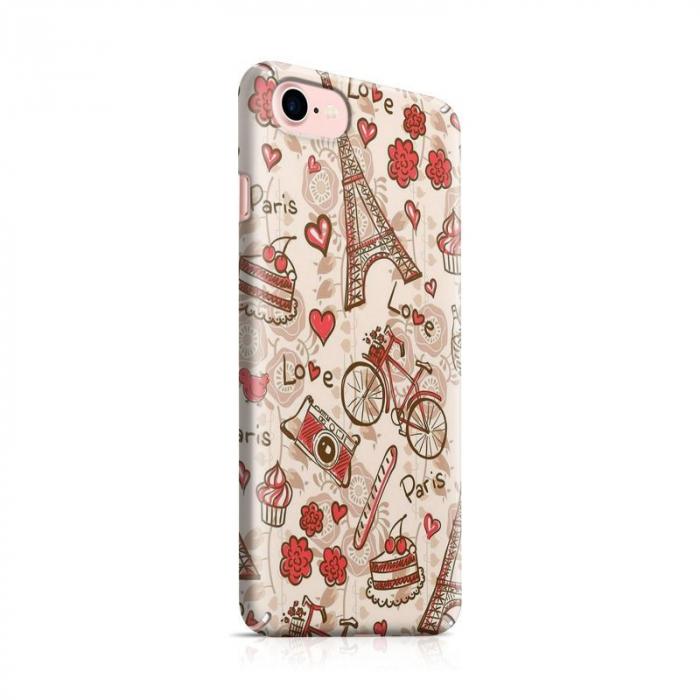 Husa iPhone 6 Custom Hard Love Paris 0