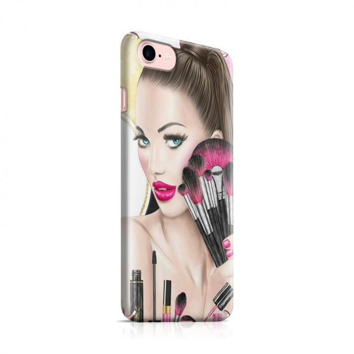 Husa iPhone 6 Custom Hard Makeup 0