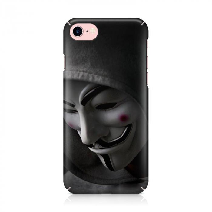 Husa iPhone 7 Custom Hard Case Anonymous 2