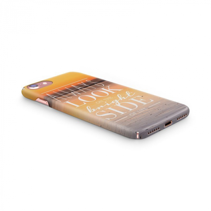 Husa iPhone 7 Custom Hard Case Blue Bright Side 1