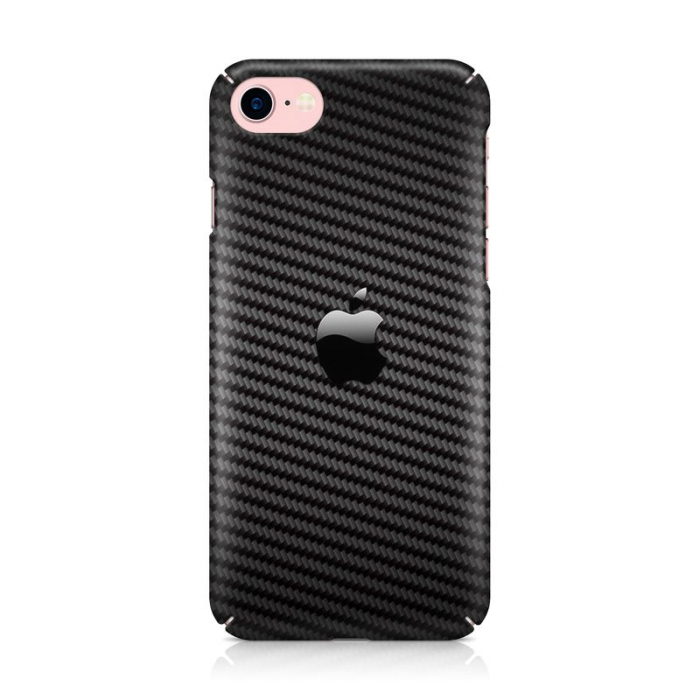 Husa iPhone 7 Custom Hard Case Carbon 2