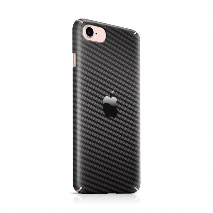 Husa iPhone 7 Custom Hard Case Carbon 0