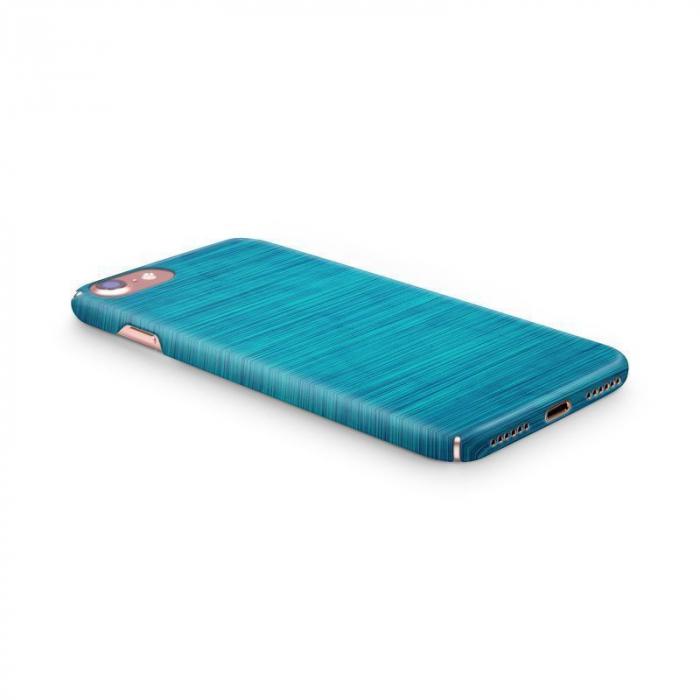 Husa iPhone 7 Custom Hard Case Blue Lines 1
