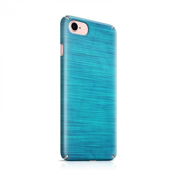 Husa iPhone 7 Custom Hard Case Blue Lines 0