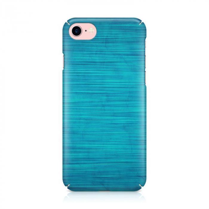 Husa iPhone 7 Custom Hard Case Blue Lines 3