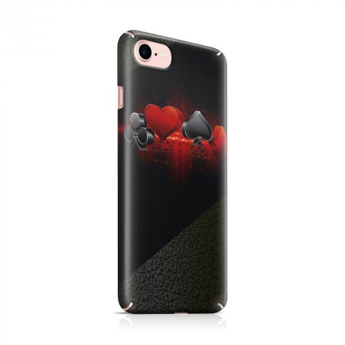 Husa iPhone 7 Custom Hard Case Cards 0