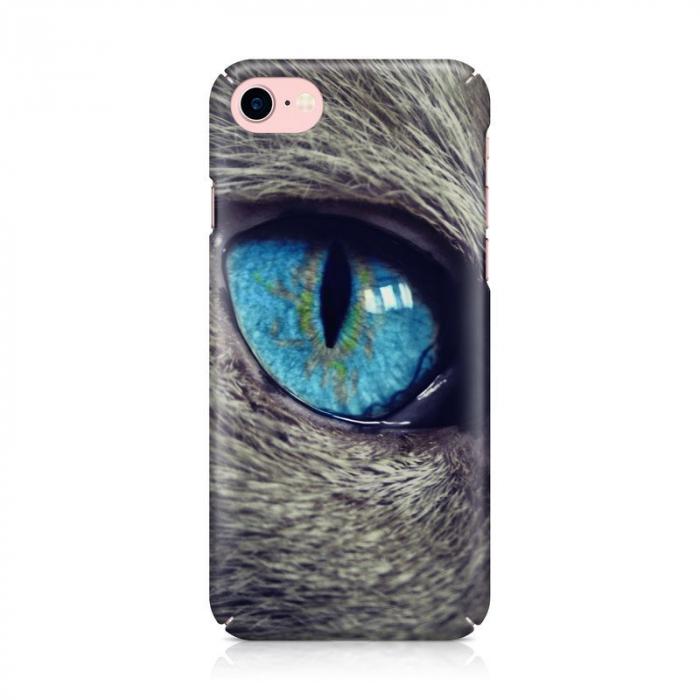 Husa iPhone 7 Custom Hard Case Cat Eye 2