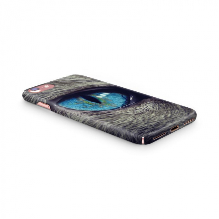 Husa iPhone 7 Custom Hard Case Cat Eye 1