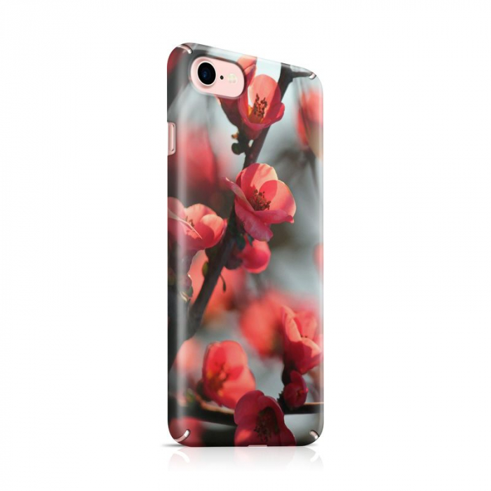Husa iPhone 7 Custom Hard Case Cherry Flowers 0