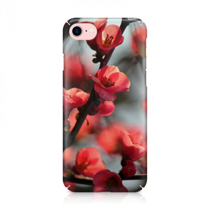Husa iPhone 7 Custom Hard Case Cherry Flowers 2