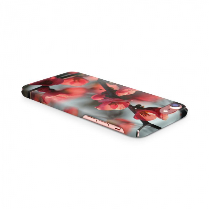 Husa iPhone 7 Custom Hard Case Cherry Flowers 3