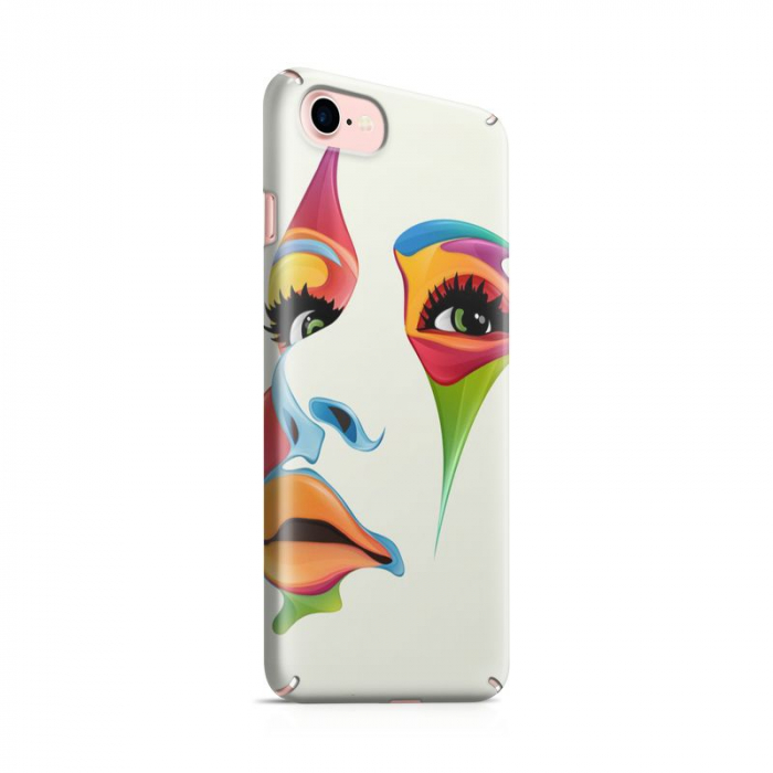 Husa iPhone 7 Custom Hard Case Color Face 0