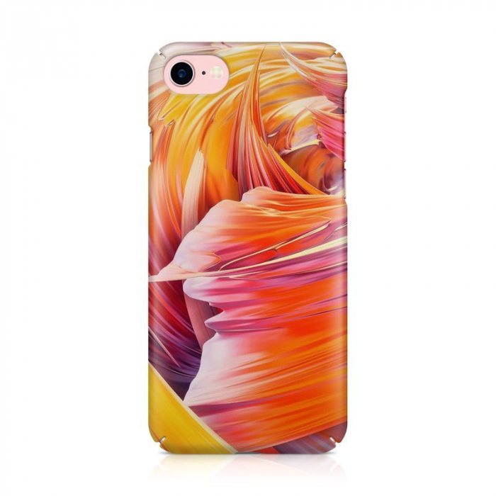 Husa iPhone 7 Custom Hard Case Color Waves 2