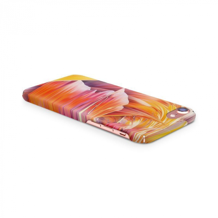 Husa iPhone 7 Custom Hard Case Color Waves 3