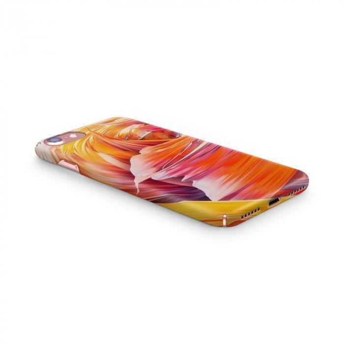 Husa iPhone 7 Custom Hard Case Color Waves 1