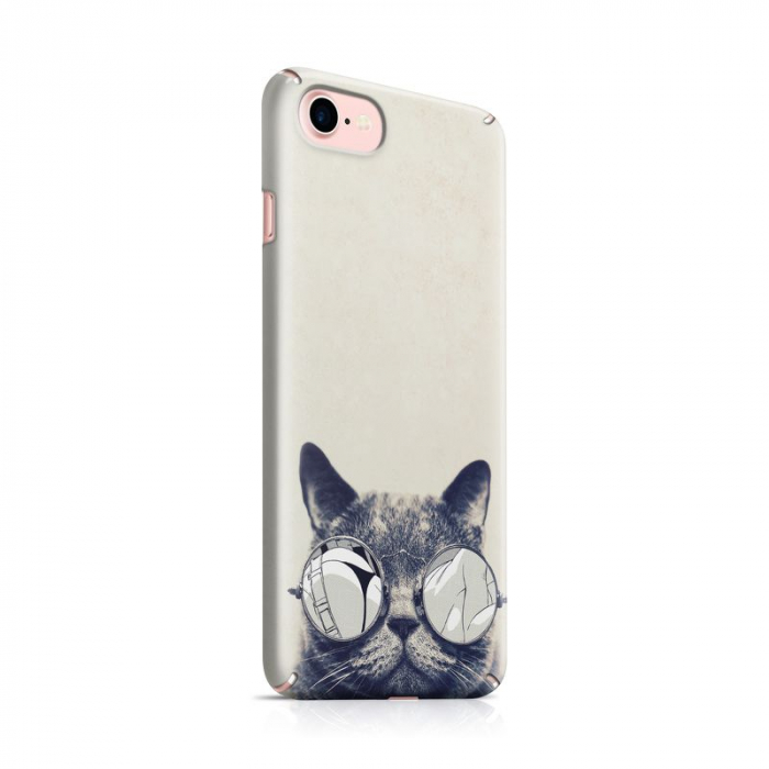 Husa iPhone 7 Custom Hard Case Cool Cat 0