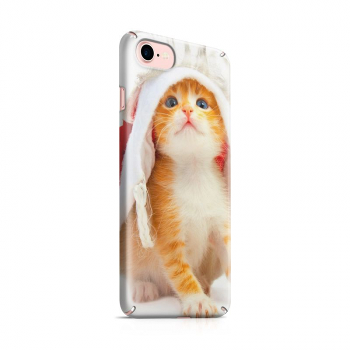 Husa iPhone 7 Custom Hard Case Cutel Cat 0