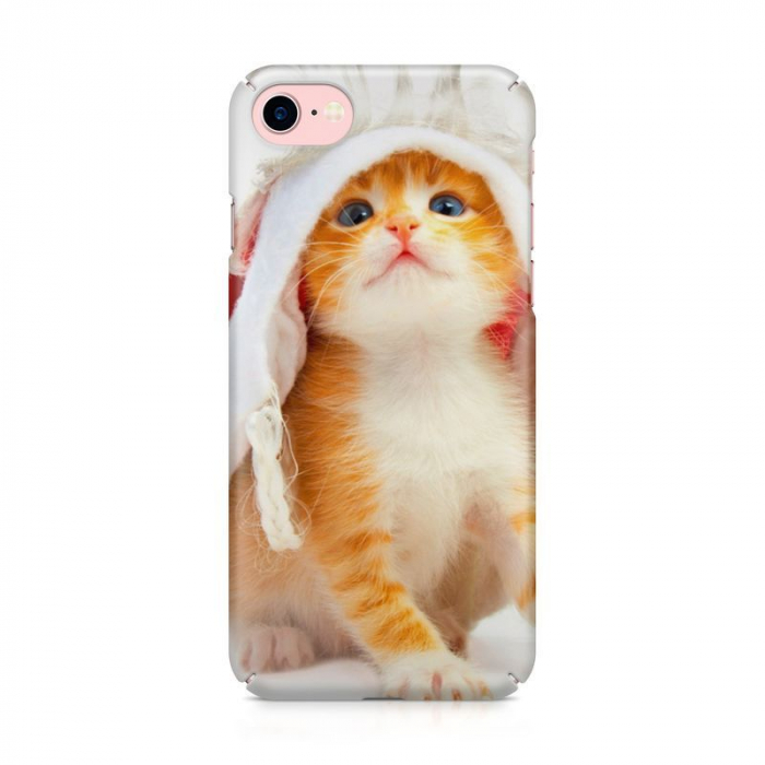 Husa iPhone 7 Custom Hard Case Cutel Cat 1