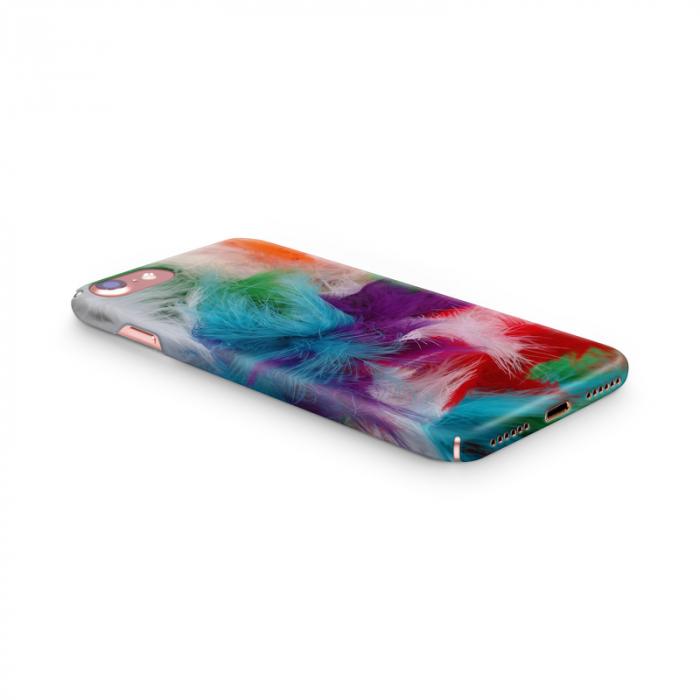 Husa iPhone 7 Custom Hard Case Feathers 2