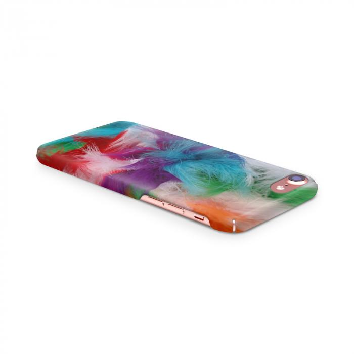 Husa iPhone 7 Custom Hard Case Feathers 3