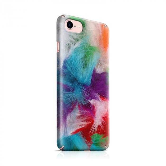 Husa iPhone 7 Custom Hard Case Feathers 0